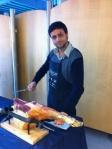 Chef Smile alle prese con il Prosciutto di Parma