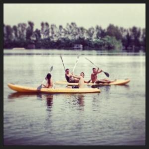Canoa napoli natura lago hyppo kampos napoli