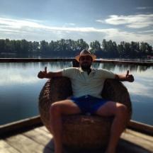 Hyppokampos palafitta sul lago Checco Smile