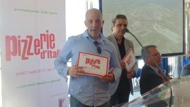 Premiato Gambero Rosso Presentazione guida Pizzerie d'Italia cirrà del gusto 1 Luglio 2013