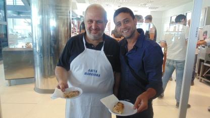checco smile Gambero Rosso Presentazione guida Pizzerie d'Italia cirrà del gusto 1 Luglio 2013
