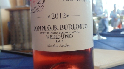 Vino Rosato Verduno Italia 2012 Italia Burlotto gusto nola gambero rosso presentazione guida pizzerie