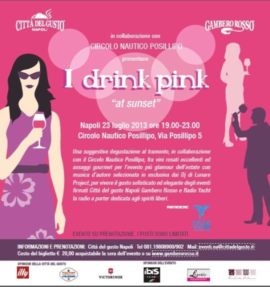 i drink pink napoli 25. 07. 2013 circolo posillipo