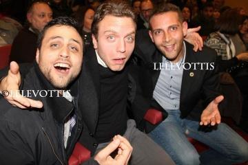 Checco Smile Antonio Guarino e pasquale palma al teatro Troisi