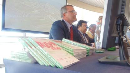 Presidente Gambero Rosso Paolo Cuccia Presentazione guida Pizzerie d'Italia cirrà del gusto 1 Luglio 2013