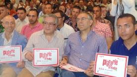 Premiato Gambero Rosso Presentazione guida Pizzerie d'Italia città del gusto 1 Luglio 2013 enzo coccia