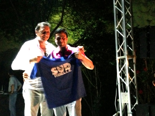 Pino Mosca e Checco Smile Simone schettino ramo d'oro napoli