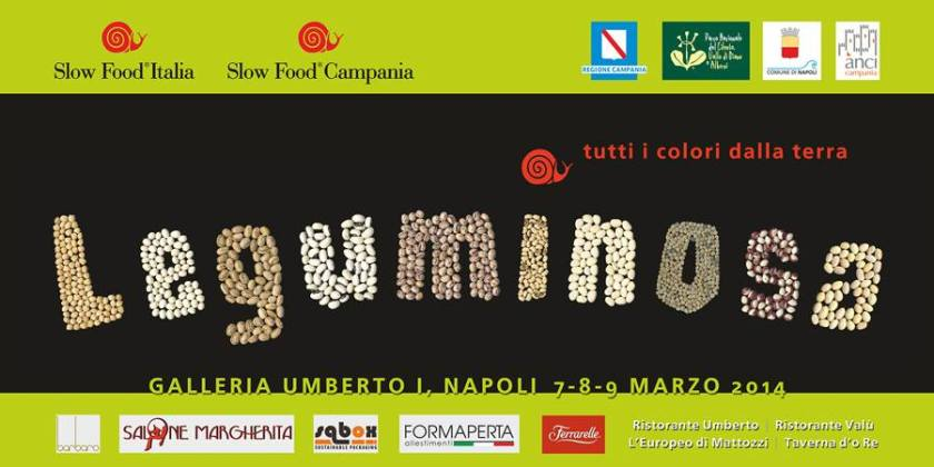 cartellone leguminosa slow food Napoli