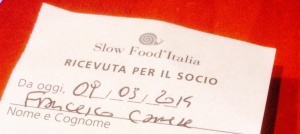 checco smile socio slow food a Leguminosa napoli