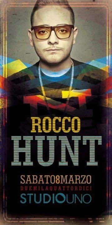 Rocco hunt a Caserta studiouno sabato 8 marzo