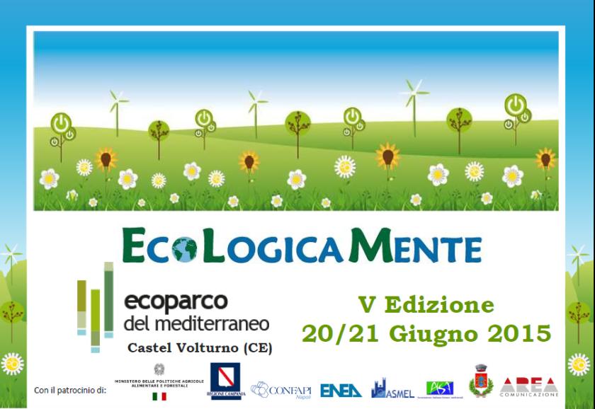 ecologicamente 2015 ecoparco del meditteraneo locandina