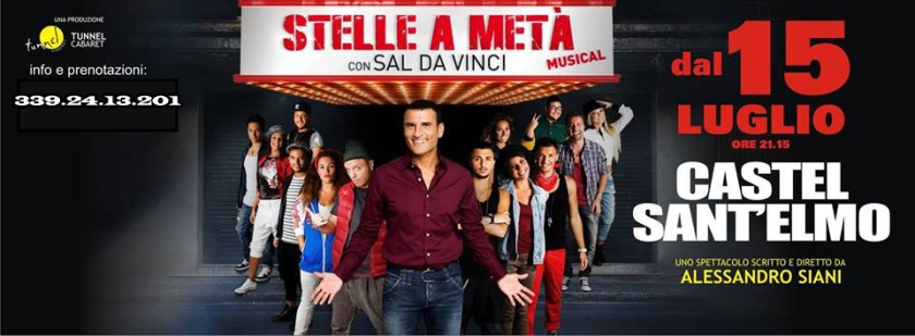 stelle a metà ticket castel sant'elmo 15 luglio 2015
