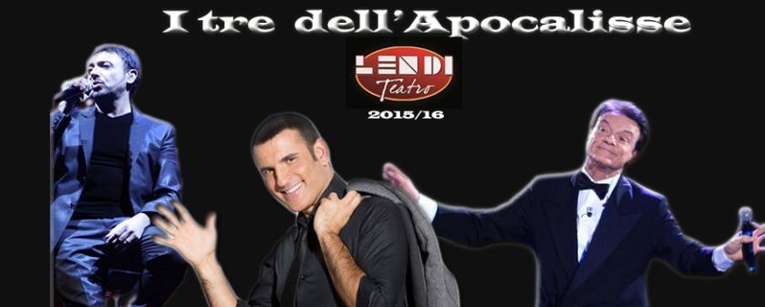 Massimo ranieri, Gigi Finizio e Sal Da Vinci al Teatro Lendi, Sant'arpino, Napoli