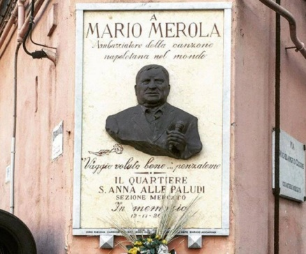 mario merola targa commemorativa