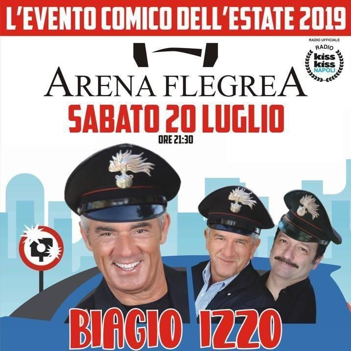biagio izzo autovelox arena flegrea 20 luglio 2019 locandina