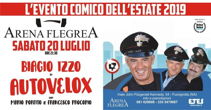 biagio izzo autovelox arena flegrea 2019
